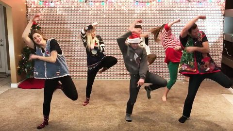 8 Siblings Created The Ultimate Holiday Dance That'll Leave You In Tears   Country Music Videos