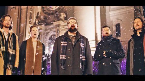 Home Free Will Get You Into The Christmas Spirit With Magical 'Silent Night' | Country Music Videos