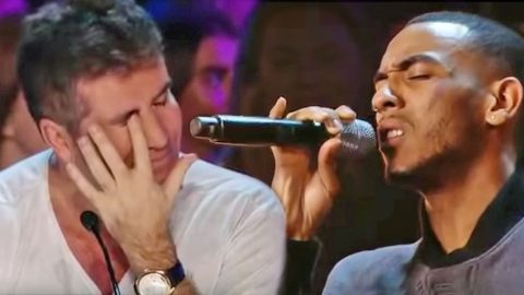 Simon Cowell Is Moved To Tears During An Emotional X-Factor Audition | Country Music Videos