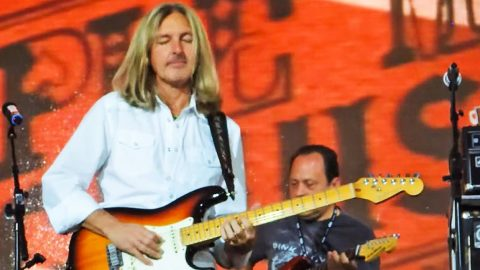 Sparky Matejka Proves He 'Knows A Little' About Playing Guitar In Epic Shredding Session | Country Music Videos