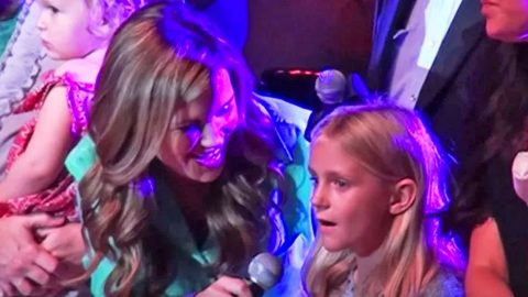 St. Jude Patient Unexpectedly Steals Country Legends' Hearts With 'Angels Among Us' | Country Music Videos