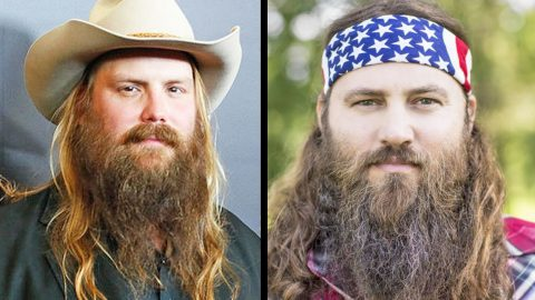 Chris Stapleton Reveals He Gets Confused With The Duck Dynasty Guys | Country Music Videos