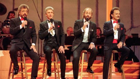 The Statler Brothers Steal Your Attention With Timeless 'Flowers On The Wall' Performance | Country Music Videos