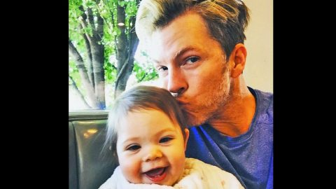 Rascal Flatts' Joe Don Rooney Steals Kisses From His Baby Girl In The Most Adorable Way | Country Music Videos