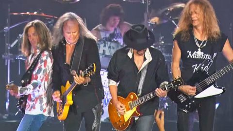 The Crowd Gets All Riled Up When Skynyrd Brings Their A Game To 'Gimme Three Steps' | Country Music Videos