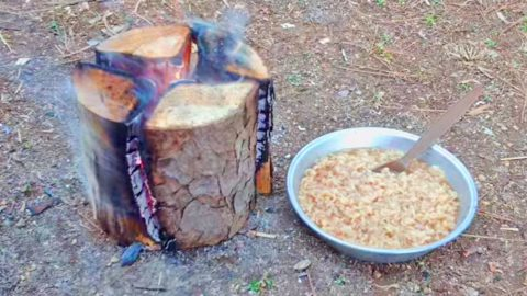 Who Knew You Could Make A Delicious Dinner With… A Log! | Country Music Videos