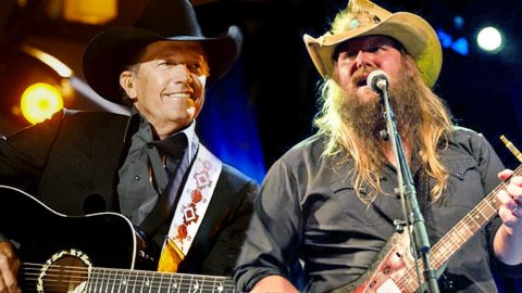 Chris Stapleton Sings A George Strait Hit, But Did Y'all Know He Wrote It?? | Country Music Videos