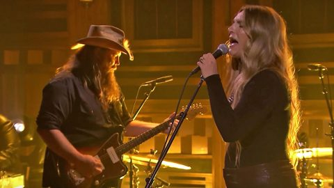 Chris Stapleton & Wife Give Chilling Twist To 'You Are My Sunshine' | Country Music Videos