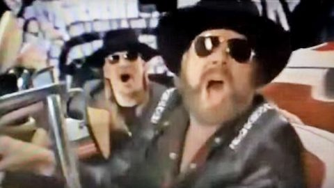 Hank Williams Jr. & Kid Rock Kicked Off The Super Bowl With Badass Video | Country Music Videos