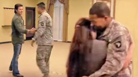 Remember When Billy Ray Cyrus Made Us All Cry With This Emotional Surprise Military Homecoming? | Country Music Videos