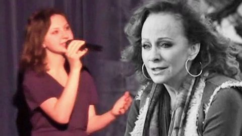 Teenager Sings Reba's 'Just Like Them Horses' In Honor Of Grandfather Who Passed Away | Country Music Videos