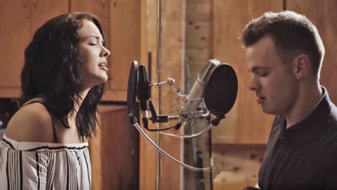 Young Couple Stuns With Unreal 'Tennessee Whiskey' Duet | Country Music Videos