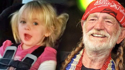Adorable 3-Year-Old Singing Willie Nelson's 'On The Road Again' | Country Music Videos