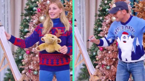 Tim McGraw & Faith Hill's Drawings On 'Holiday Pictionary' Are Horrifically Bad | Country Music Videos