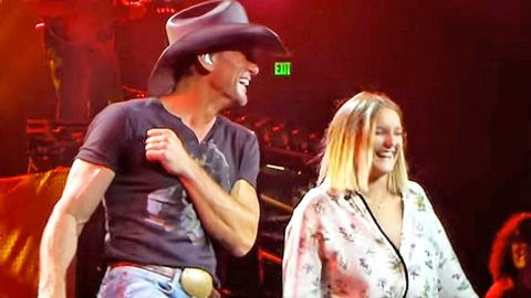 Tim McGraw Proves He Is A 'Cool Dad' With Adorable Father-Daughter Selfie | Country Music Videos