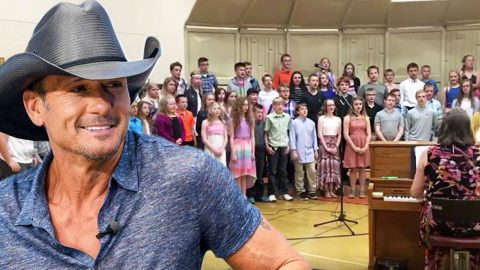 Elementary Kids Emotionally Performing 'Humble & Kind' Will Restore Your Faith In Humanity | Country Music Videos