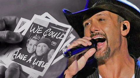 "Tim McGraw Shows Us What Puts Him On ""Top Of The World"" In Brand New Lyric Video 