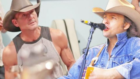 Tim McGraw Jams Out Backstage To Dwight Yoakam's 'I Sang Dixie' | Country Music Videos