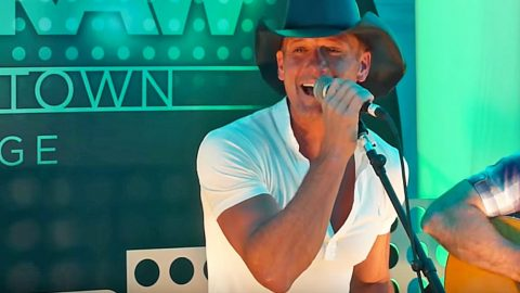 Tim McGraw Turns Up The Heat With George Strait's Steamy Tease 'The Fireman' | Country Music Videos