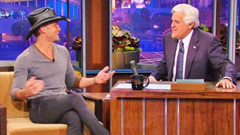 Tim McGraw Talks Pranks on The Tonight Show with Jay Leno (VIDEO) | Country Music Videos