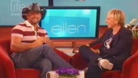 Tim McGraw – Ellen Degeneres Show (2007) (VIDEO) | Country Music Videos