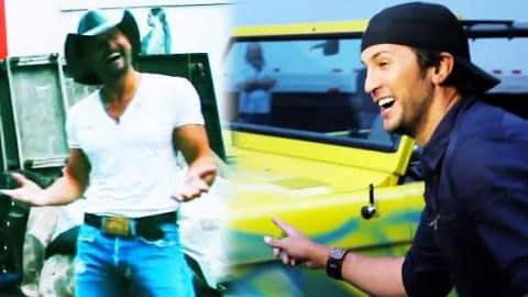 Tim McGraw Plays A Prank On Luke Bryan! (WATCH) | Country Music Videos