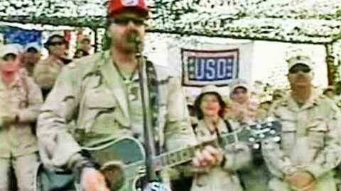 Toby Keith – As Good As I Once Was (Live From Iraq) | Country Music Videos