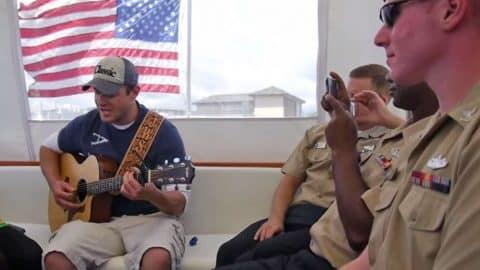 "Former American Idol Hopeful Sings Heartfelt Cover Of ""American Soldier"" (VIDEO)   Country Music Videos"