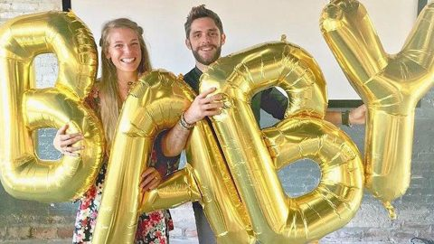 Thomas Rhett And Wife Lauren Welcome A Daughter | Country Music Videos