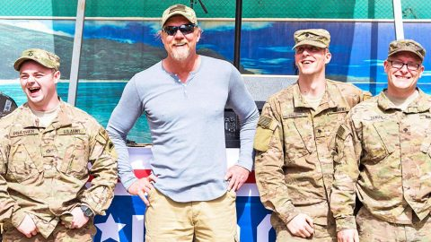 Trace Adkins Takes A Stand For The U.S.A. In Patriotic Song 'Still A Soldier'   Country Music Videos