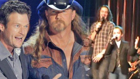 """Kyle Earhart & 10-Year-Old Maddox Ross Cover Trace Adkins & Blake Shelton's """"Hillbilly Bone"""" (VIDEO) 
