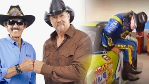 Trace Adkins and Richard Petty in Pick A Powder Campaign Promo (WATCH)   Country Music Videos