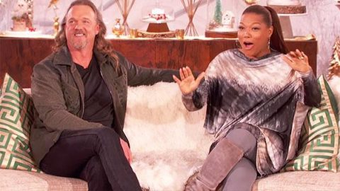 Trace Adkins Talks Twerking & Badonkadonks on The Queen Latifah Show (VIDEO) | Country Music Videos