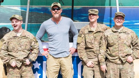 Trace Adkins Teams Up With USO/Grand Ole Opry To Kick Off Tour (VIDEO) | Country Music Videos