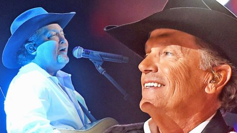 Tracy Lawrence Thrills Fans With Surprise Performance Of George Strait's 'Troubadour' | Country Music Videos