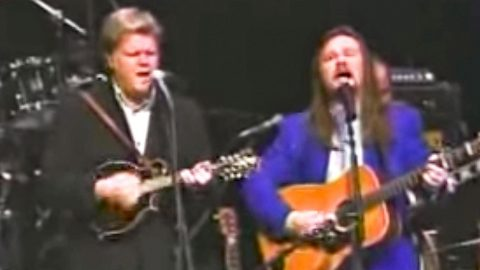 Hear The Sweet Sound Of Travis Tritt & Ricky Skaggs Singing Together On 'Man Of Constant Sorrow'   Country Music Videos