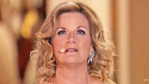 Trisha Yearwood Stuns In Passionate Performance Of 'Broken' At The Foot Of The Cross | Country Music Videos