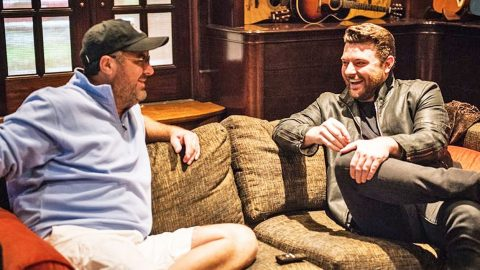 Vince Gill Shares Words Of Wisdom With Modern Country Artist, Chris Young   Country Music Videos