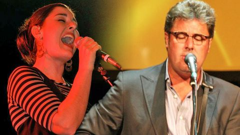 Vince Gill, His Daughter, & Ricky Skaggs Amaze With Soaring Performance Of 'Go Rest High'   Country Music Videos