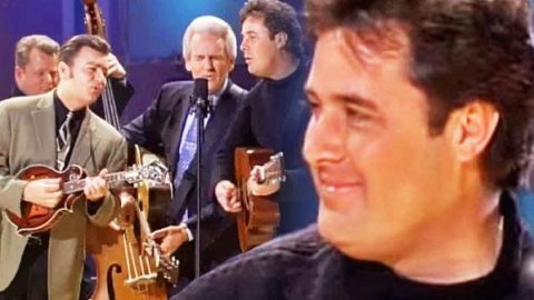 """Vince Gill Performs """"Crying Holy (Unto My Lord)"""" With The Del McCoury Band! 
