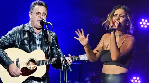 Maren Morris & Vince Gill Honor Vegas Victims With Tear-Jerking Tribute | Country Music Videos