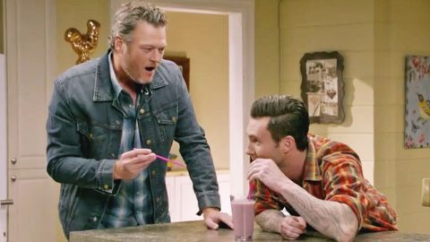 'The Voice' Promotes Upcoming Season With Silly Sitcom Sketch | Country Music Videos