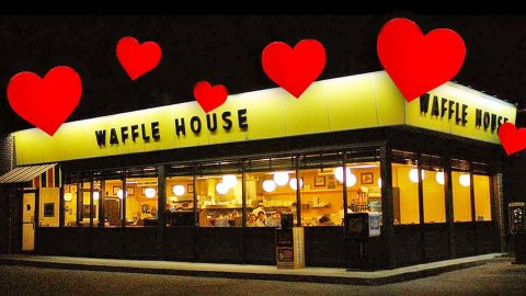 Waffle House's Valentine's Dinner Is A Little Bit Romantic & A Whole Lot Of Redneck | Country Music Videos