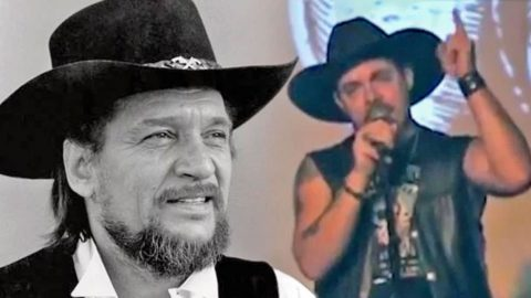 Waylon Jennings' Grandson Performs Moving Tribute To His Grandfather   Country Music Videos