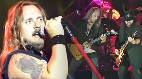 Skynyrd Attacks The Stage With Fierce Performance Of Fan-Favorite Song 'Whiskey Rock-A-Roller' | Country Music Videos