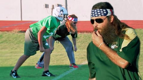 Willie and Little Will Hilariously Battle It Out On The Football Field | Country Music Videos