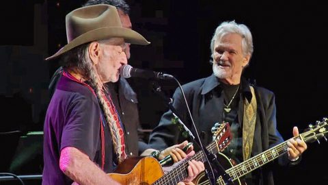 Willie Nelson Honors Good Friend Kris Kristofferson With Compelling Cover Of 'Me And Bobby McGee' | Country Music Videos