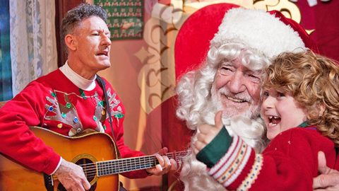 Country Legends Show Their Holiday Spirit In The Star-Studded Film, 'Angels Sing' | Country Music Videos