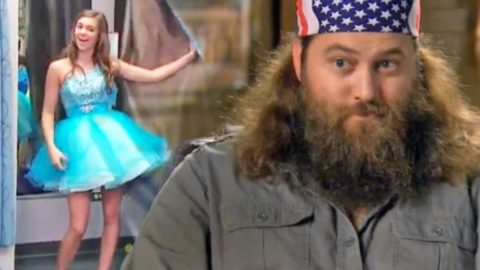 Willie Robertson Takes His Daughter On A Hilarious Dress Shopping Mission (WATCH)   Country Music Videos