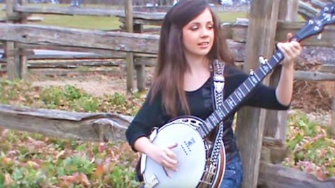 Prepare To Be Blown Away By This 11-Year-Old Girl's Banjo Skills   Country Music Videos